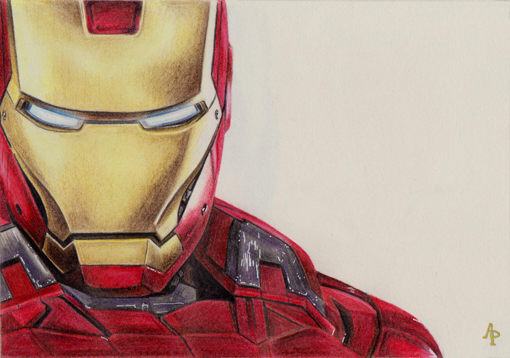 Iron Man By Alizee-P On DeviantArt