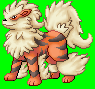 Arcanine Sprite by purple-hill