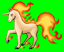 Rapidash Sprite by purple-hill