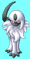 Absol Sprite_Pixelart by purple-hill