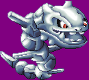 Steelix Sprite_Pixelart by purple-hill