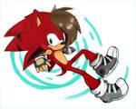 Shay the hedgehog by Silverammy