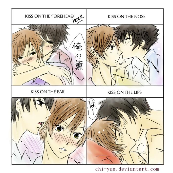 Hikaru Kaoru: Kiss Meme by chi-yue