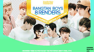 BTS PNG Pack #1
