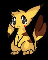 Pikachu by Myumimon