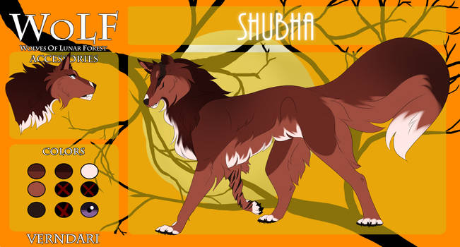 [WoLF] Shubha | Verndari | Traveler - Tier 0 by AlphaSpice