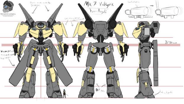 Mk 7 Valkyrie Concept 'Ferri-Angeli'
