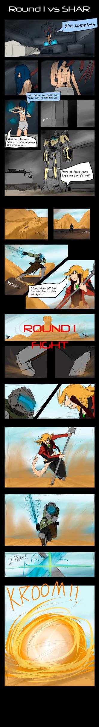 Fighting Tournament  Round 1-1: Shar by Lazarus-Firenze