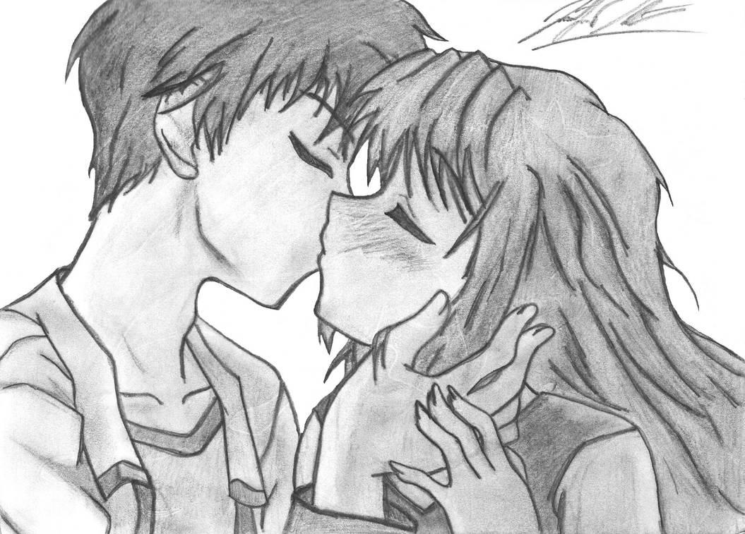 Anime Kiss by Amari-Chan