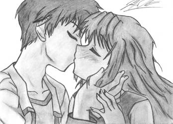 Anime Kiss by Amari-Chan