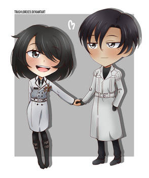 [AT] Holding hands
