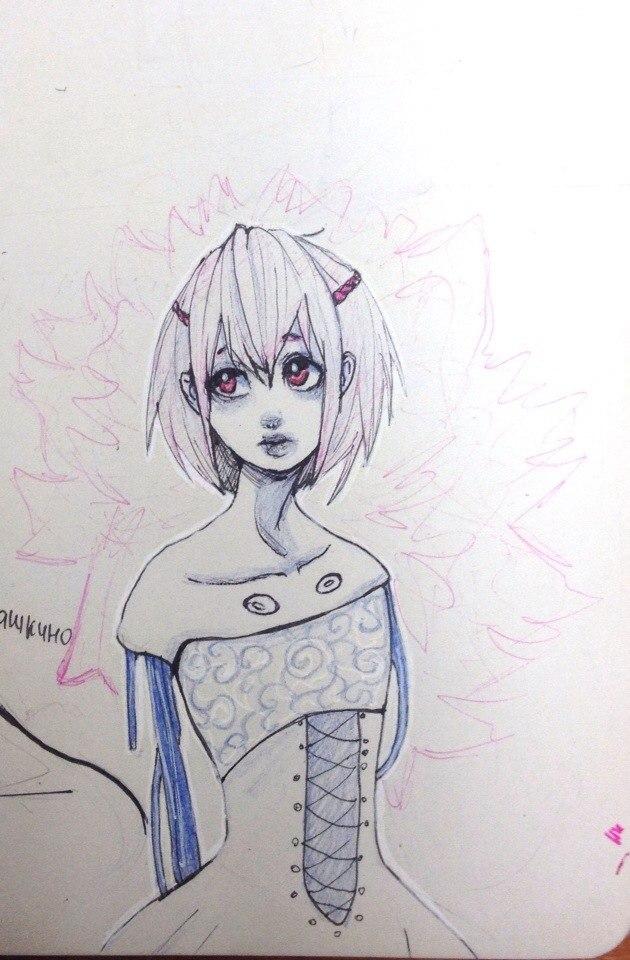 Amelia TRADITIONAL by Pangashka