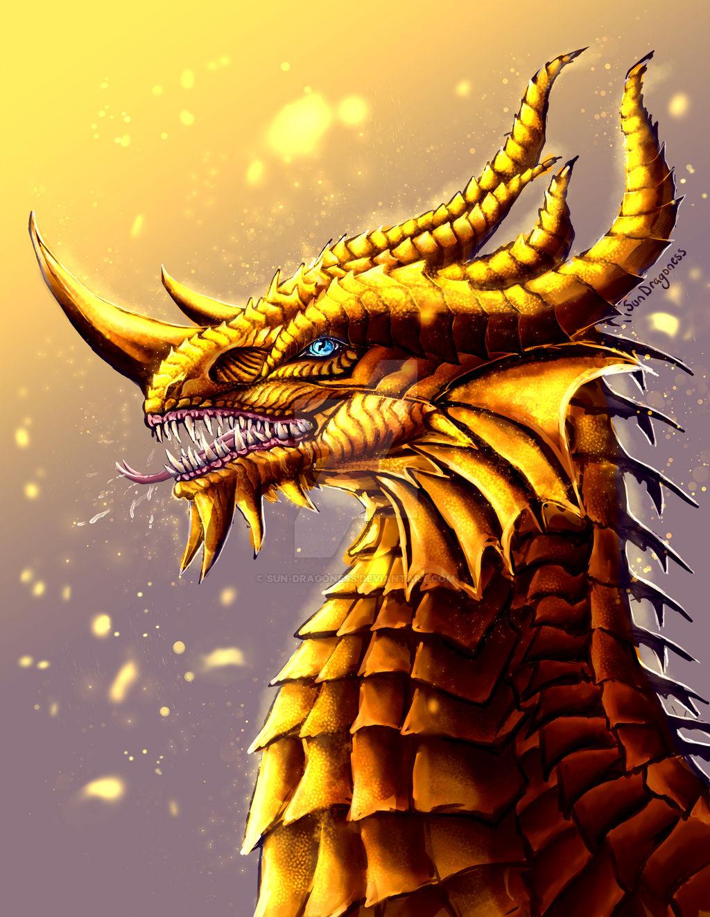 golden sun dragon skin for sale