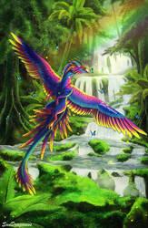 Amazonian Parrot Dragon