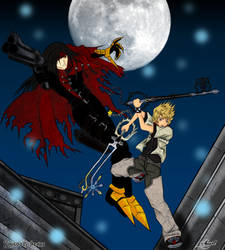 .: KH - VinRox Fight :. by Nuxcia