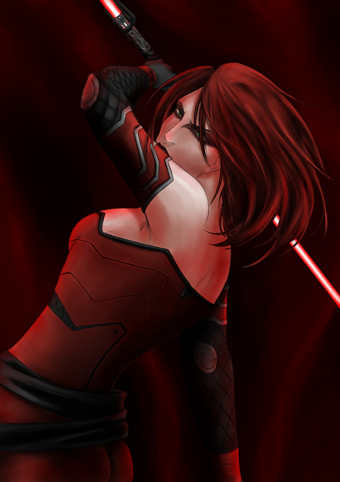 SWTOR :: Darth Ekath by Nuxcia