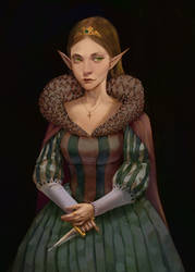 Portrait of an Elfqueen