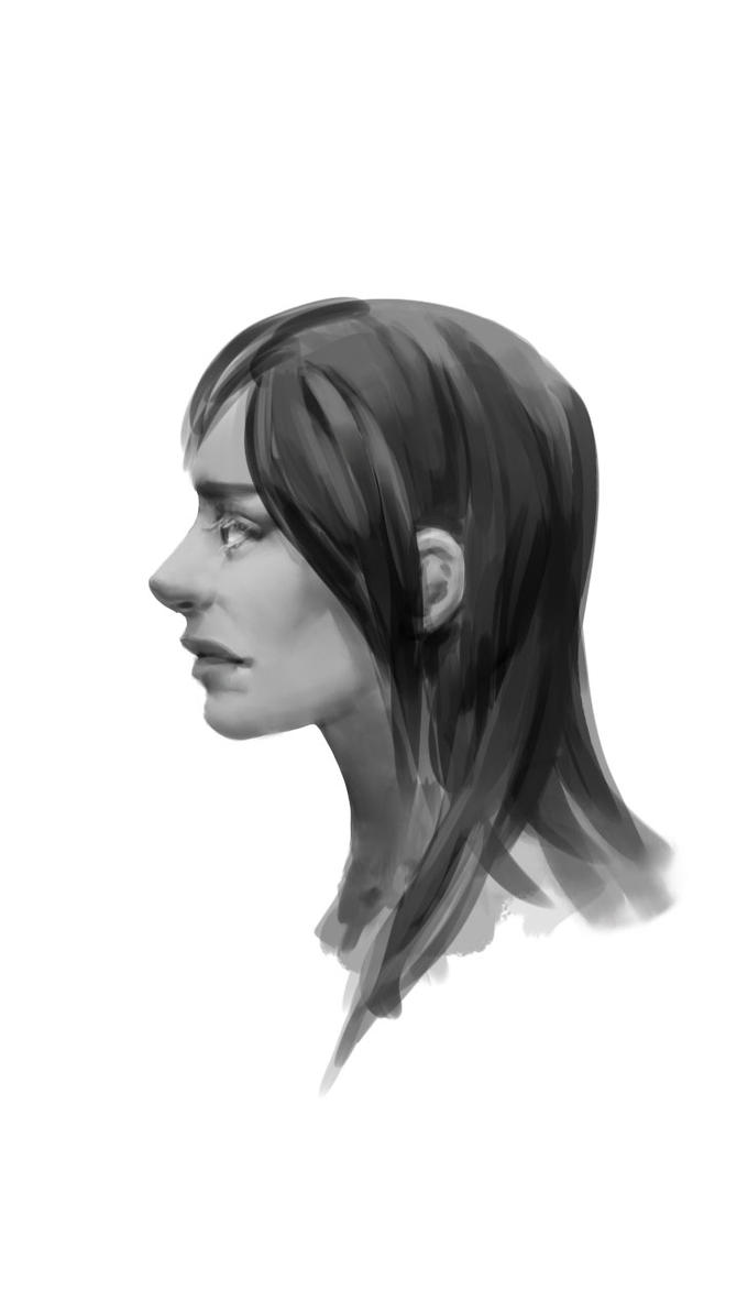 Face practice by LailaRoever