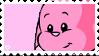 pink kacheek stamp by softcorre
