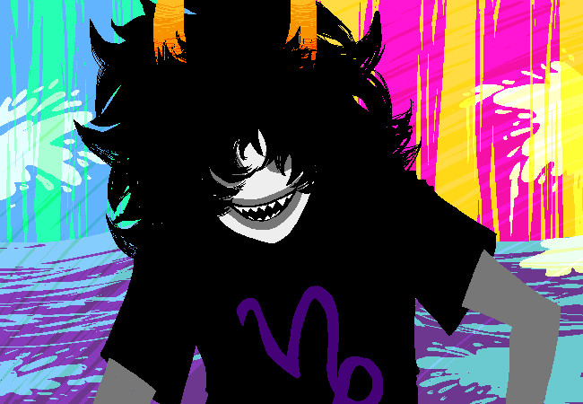 Gamzee: Look like a badass by a-song-unsung