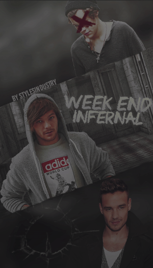 03. - Weekend infernal. [ WATTPAD COVER. ] by deargraphisme
