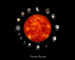 The Former Planets