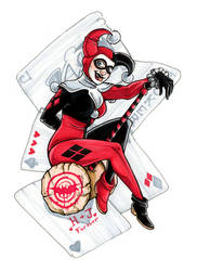 Harley Pinup by GabbyVee