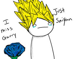 I Miss Garry, Just Saiyan by the-wilted-rose