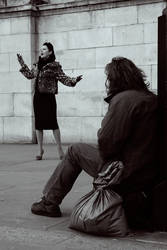 Homeless and the Singer by tbfdm
