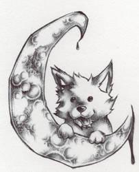 Lunar ink by Werewolfman2