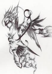 my Avi 2: resident of the sky by Werewolfman2
