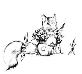 Squirrel Monk by Werewolfman2