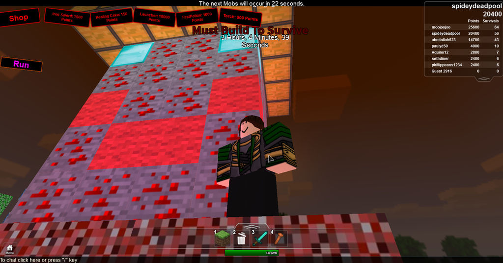 Roblox Build To Survive 3 Roblox Giant Freddy Krueger By Voorhees657 On Deviantart