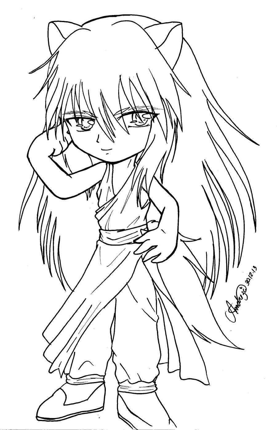 yoko coloring pages - photo#9