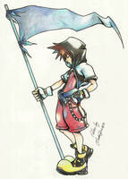 Kingdom Hearts - Sora 2 by TifaYuy