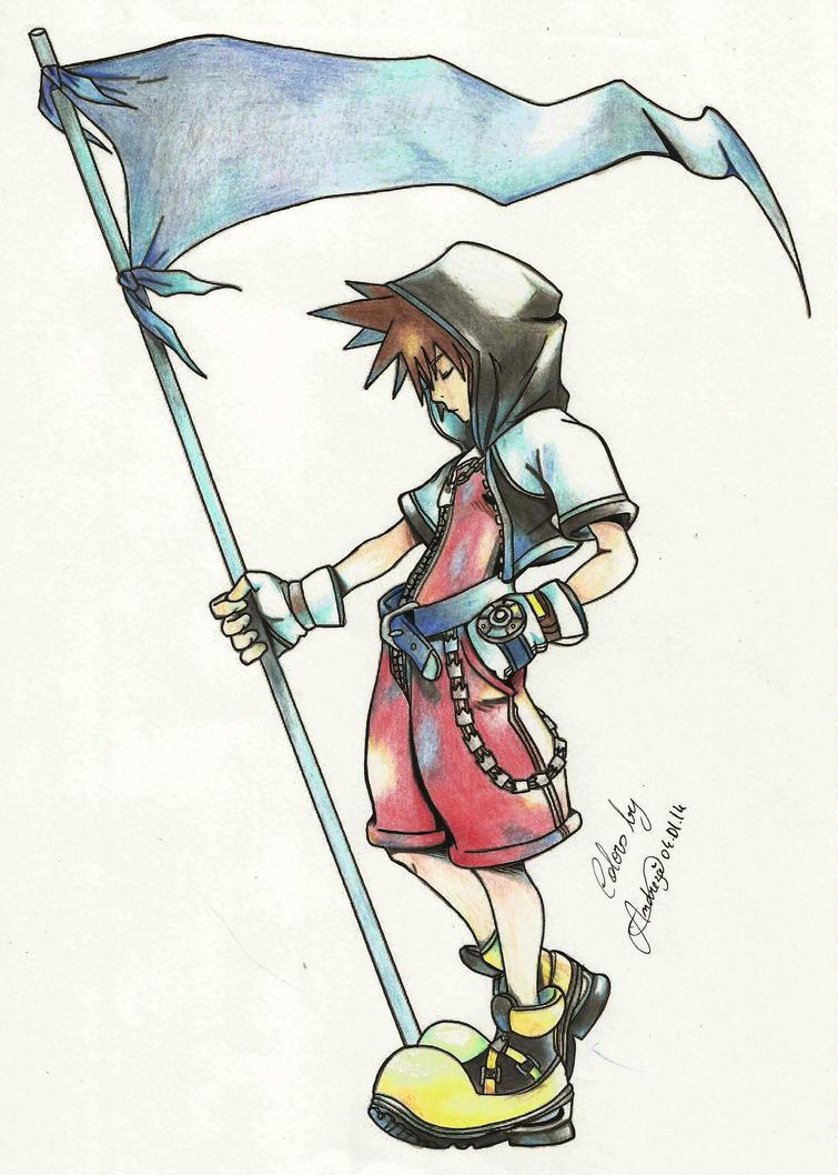 Sora Kingdom Hearts Lineart : Kingdom hearts sora by tifayuy on deviantart
