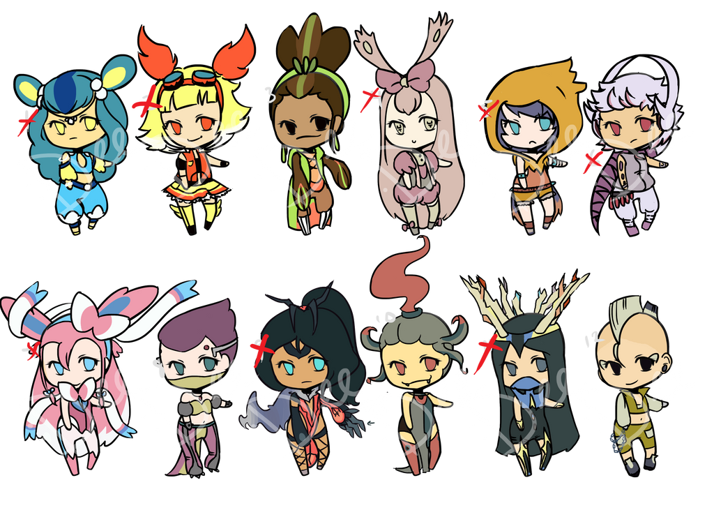 X And Y Anime Characters : Pokemon xy people images