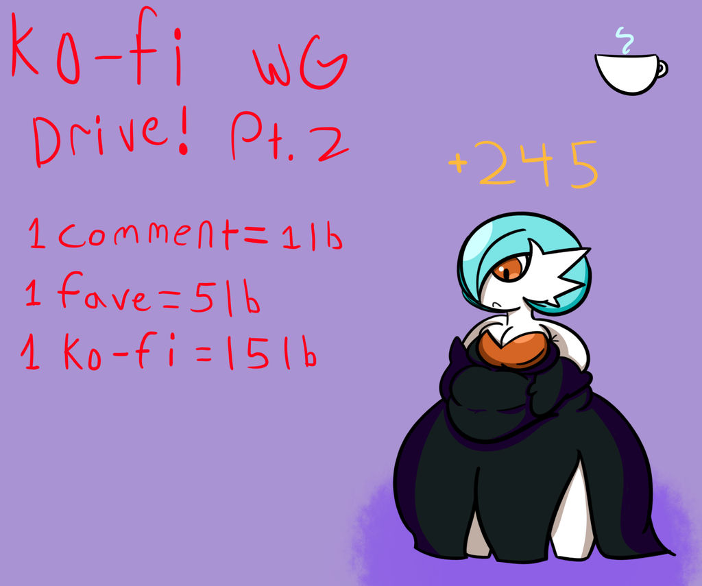 Gardevoir Milk kofi-voir (gardevoir wg drive) pt. 2milk-knight on