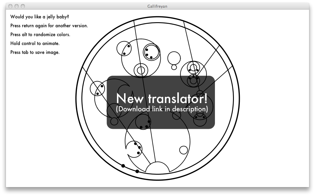 New and much-improved translator!