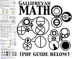 Gallifreyan Math by BlackHatGuy