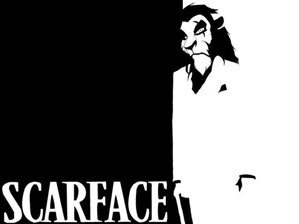 Scarface by pietja8t8 on deviantart - Scarface cartoon wallpaper ...