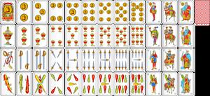 Baraja Espanola Vector (Alpha X1 Draft)