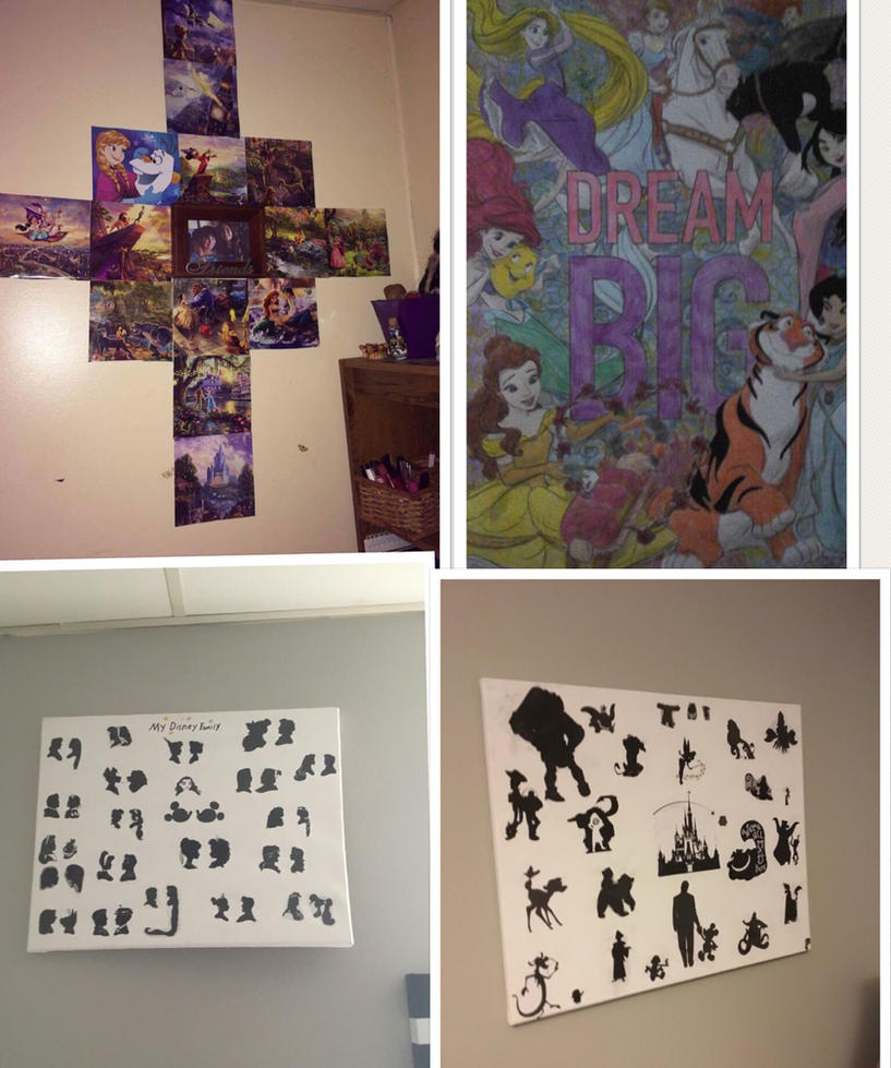 My Disney Decorations. by lionqueen1067