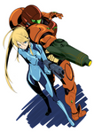 ZSS and Samus Colored