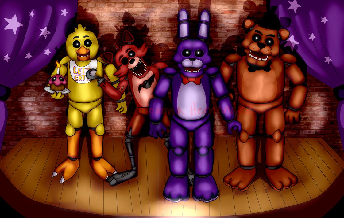 FNAF by psychopathic-circus