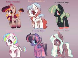 $5 Ponies [1/6 OPEN]