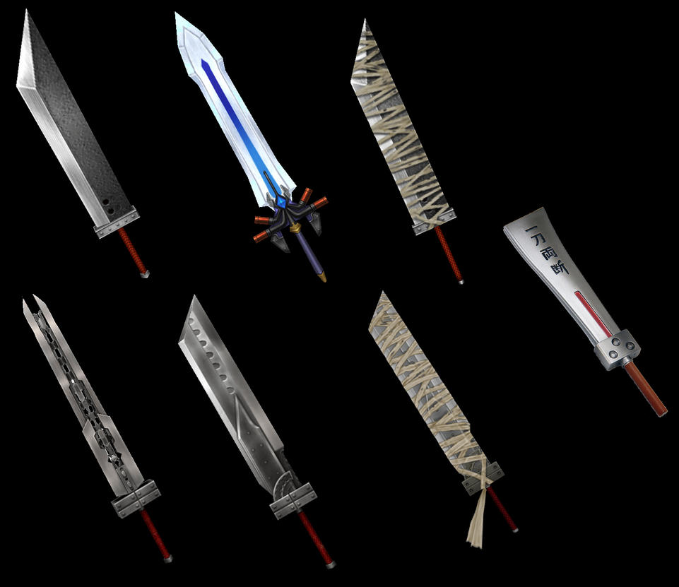 Final fantasy swords wallpaper