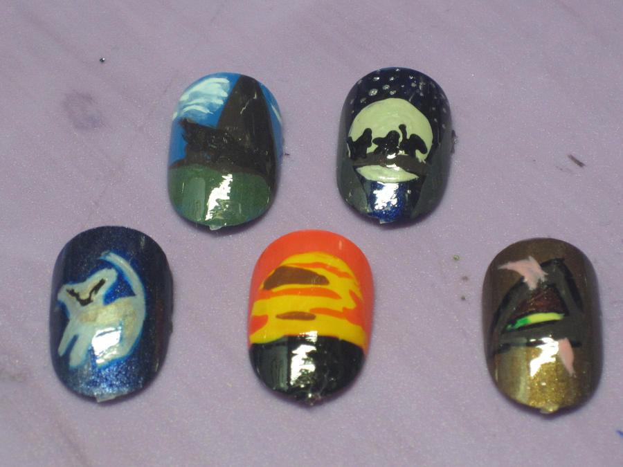 Lion King Nails by hatterlet on DeviantArt