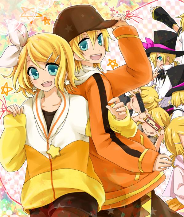 Rin y Len Kagamine Chibi Png Kagamine Rin/len Render 3 by