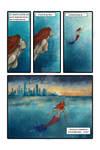 Mermaid Comic Page